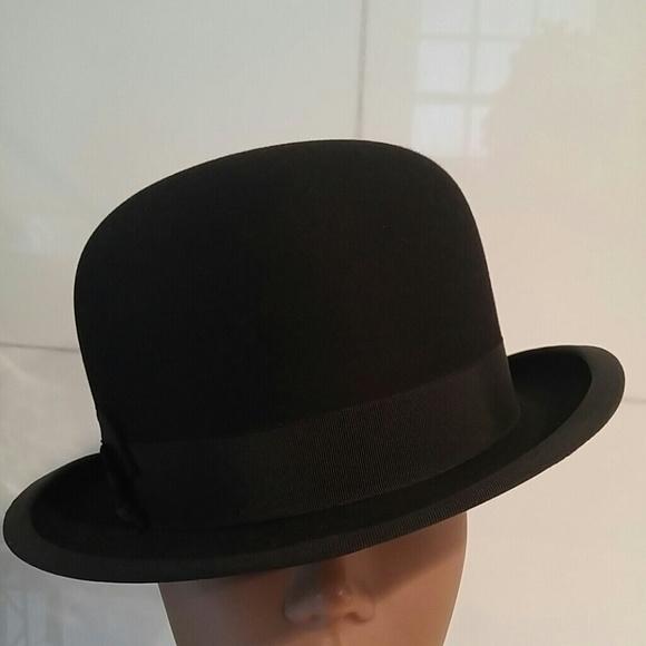 Vintage 1930s Royal Stetson Bowler Steampunk Hat. M 5a7347752ae12f002a7a5274 471bc098ab4